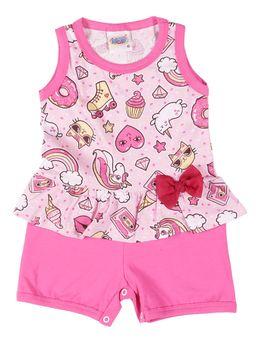 Macacao-Infantil-Para-Bebe-Menina---Rosa-P