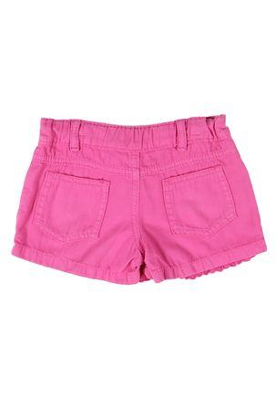 Short-Sarja-Infantil-Para-Menina---Rosa-Pink