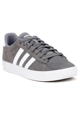Tenis-Casual-Masculino-Adidas-Cinza-branco