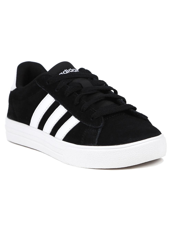 15d60b2fccb Tênis Adidas Daily 2 Infantil Para Menino - Preto branco - Lojas Pompeia