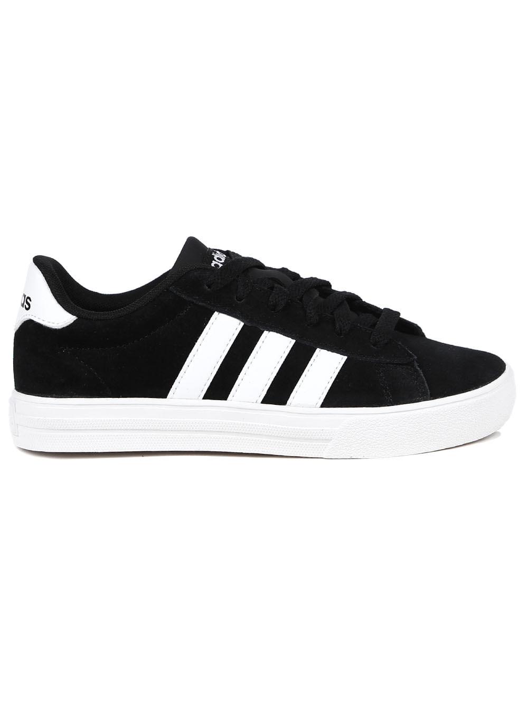 63047793328 Tênis Adidas Daily 2 Infantil Para Menino - Preto branco - Lojas Pompeia
