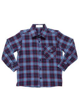 Camisa-Manga-Longa-Juvenil-Para-Menino---Azul-vermelho