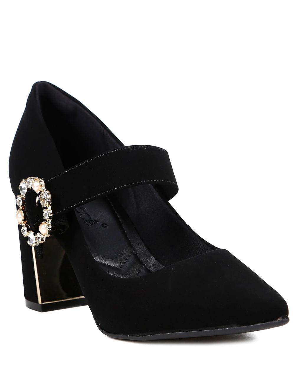 0483aaae16 Sapato de Salto Scarpin Feminino Bebecê Preto - Lojas Pompeia