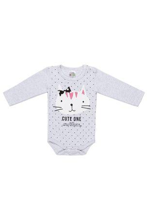 Body-Infantil-Para-Bebe-Menina---Cinza