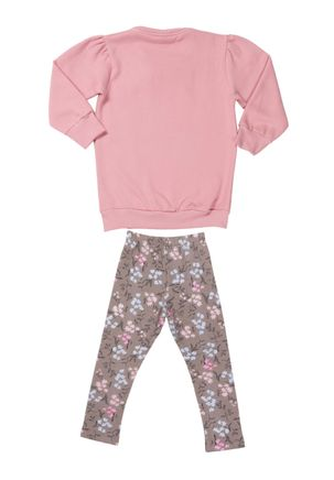 Conjunto-Infantil-Para-Bebe-Menina---Bege-rosa