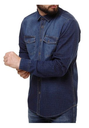 Camisa-Manga-Longa-Masculino-Urban-City-Azul-P