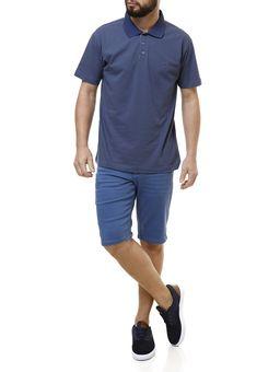 Polo-Manga-Curta-Masculina-Dixie-Azul-P