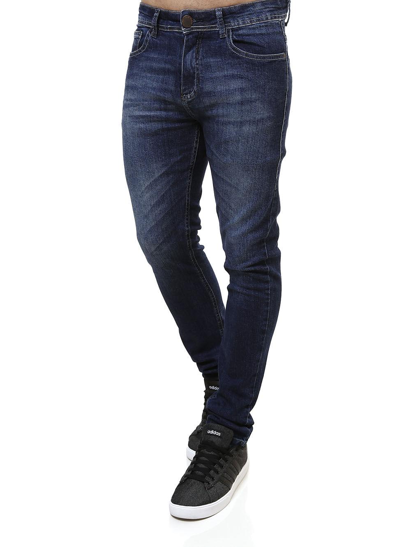 08b72b089 Calça Jeans Masculina Azul - Lojas Pompeia