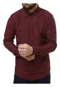 Camisa-Manga-Longa-Masculina-Vinho-P