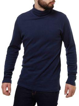 Camiseta-Manga-Longa-Masculina-Rovitex-Azul-Marinho
