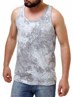 Camiseta-Regata-Masculina-Fido-Dido-Cinza-P
