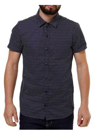 Camisa-Manga-Curta-Masculina-Fido-Dido-Azul-Marinho-P