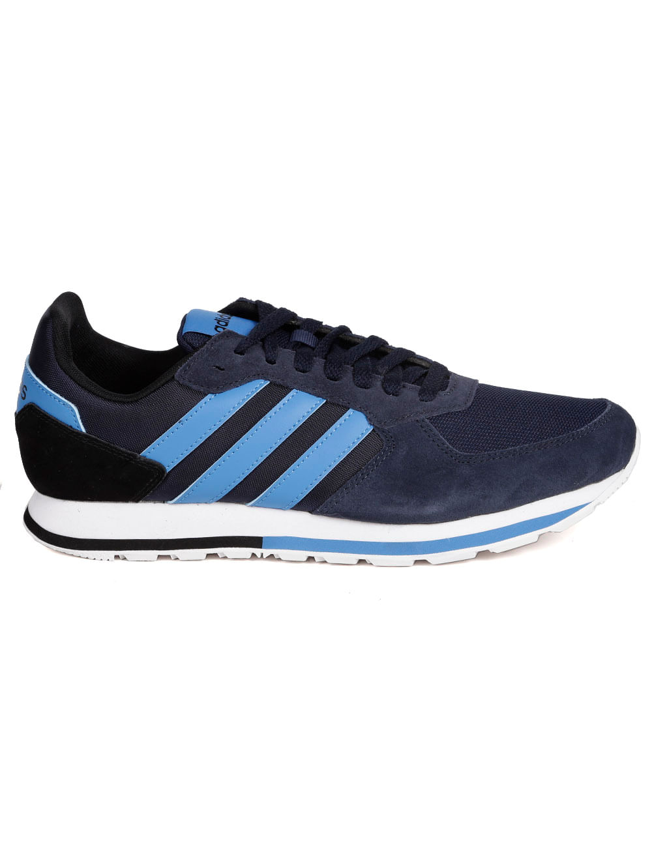 a218c1fb2e Tênis Esportivo Masculino Adidas 8K Azul Marinho azul - Lojas Pompeia