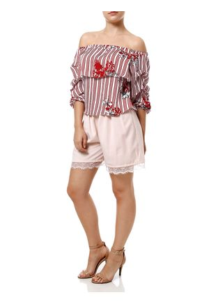 Blusa-Manga-3-4-Feminina-Ciganinha-Vermelho