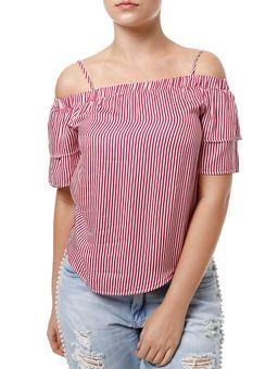 Blusa-Manga-Curta-Feminina-Cativa-Vermelho