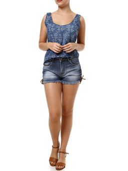Blusa-Manga-Curta-Feminina-Cativa-Jeans-Azul