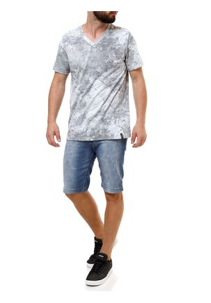 Camiseta-Manga-Curta-Masculina-Fido-Dido-Cinza-P