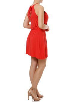 Vestido-Curto-Feminino-Coral