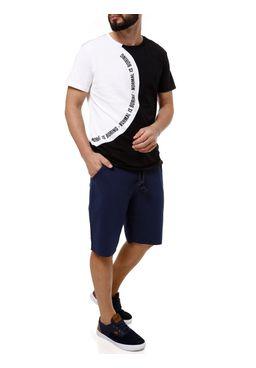 Bermuda-Moletom-Masculina-Gangster-Azul-Marinho