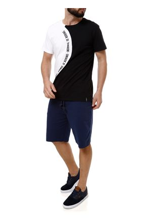 Camiseta-Manga-Curta-Masculina-Fido-Dido-Preto-branco