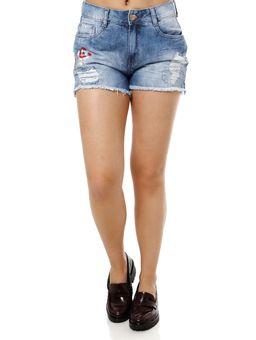 Short-Jeans-Feminino-Bordado-Azul
