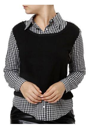 Camisa-Manga-Longa-Feminina-Preto-P