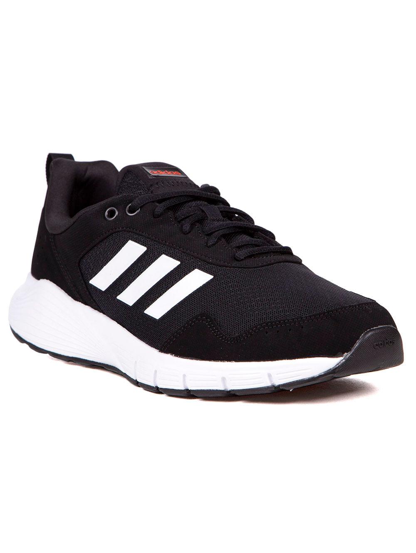 946d14454e9 Tênis Esportivo Masculino Adidas Fluidcloud Neutral Cinza branco preto