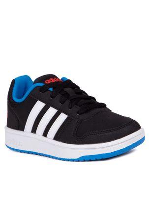 Tenis-Casual-Adidas-Infantil-Para-Menino---Preto-branco-azul-31
