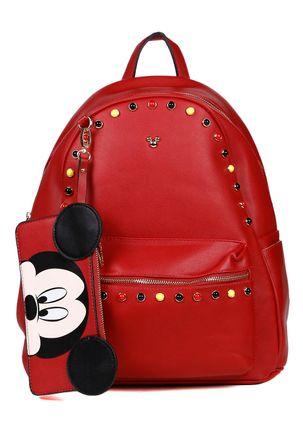 Mochila-Feminina-Disney-Vermelho