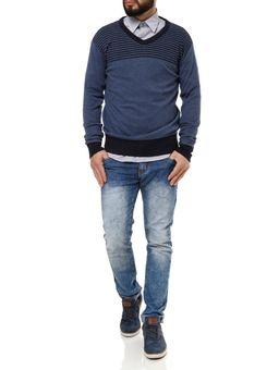 Camisa-Manga-Longa-Masculino-Urban-City-Azul-Marinho