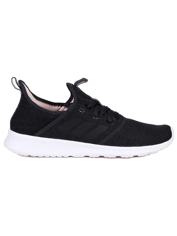433f7bf2a Tênis Esportivo Feminino Adidas CF Pure Preto/coral - Lojas Pompeia