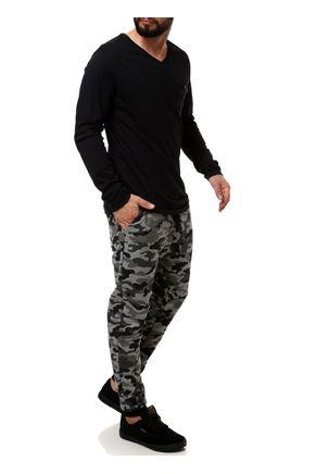 Calca-de-Tecido-Masculina-Camuflada-Cinza-P