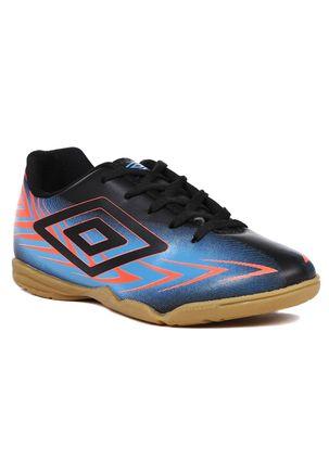 Tenis-Futsal-Umbro-Speed-III-Infantil-para-Menino---Preto-azul-33