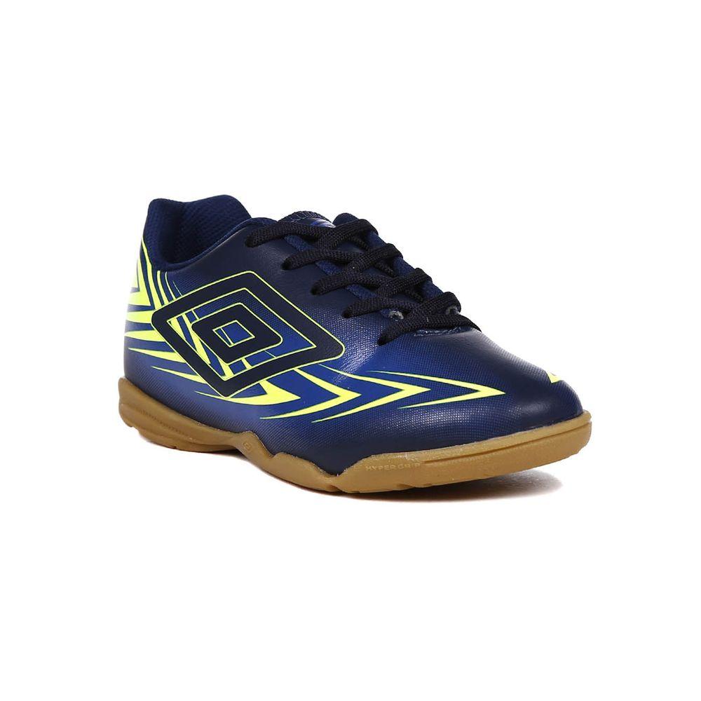 2f39735ff9 Tênis Futsal Umbro Speed III Infantil para Menino - Azul Marinho ...