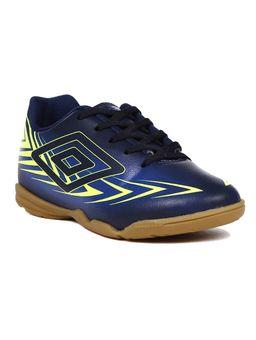 Tenis-Futsal-Umbro-Speed-III-Infantil-para-Menino---Azul-Marinho
