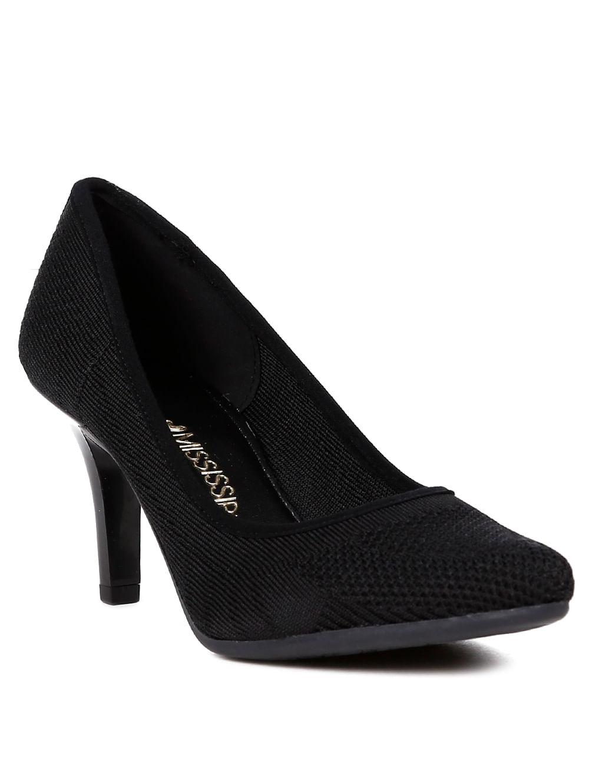 228b70c0f Sapato Scarpin Feminino Preto - Lojas Pompeia