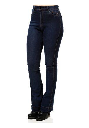 Calca-Jeans-Flare-Feminina-Azul