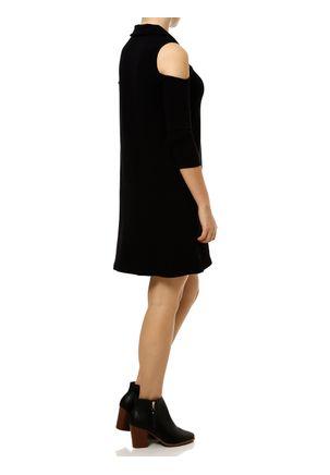 Vestido-Medio-Feminino-Autentique-Preto-P
