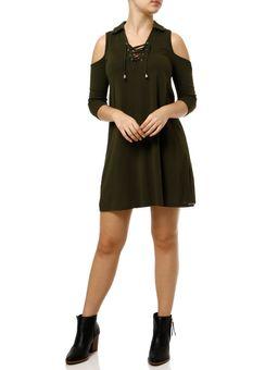 Vestido-Medio-Feminino-Autentique-Verde-P
