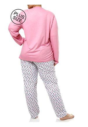 Pijama-Longo-Plus-Size-Feminino-Rosa-G2
