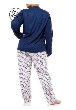 Pijama-Longo-Plus-Size-Feminino-Azul