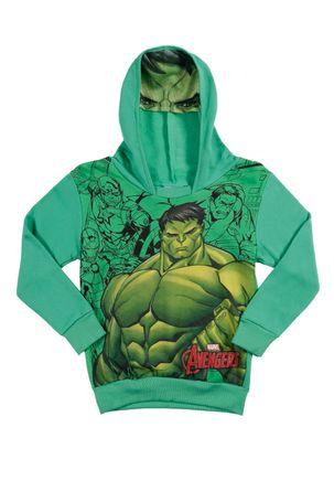Moletom-Avengers-Infantil-Para-Menino---Verde