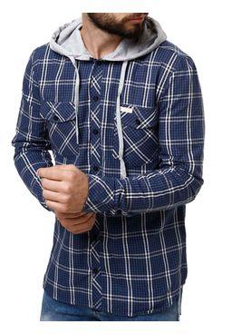 Camisa-Manga-Longa-Masculina-Occy-Azul-Marinho-cinza-P