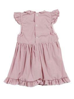 Vestido-Infantil-Para-Bebe-Menina---Rosa-claro