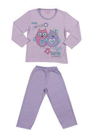 Pijama-Infantil-Para-Menina---Lilas-6