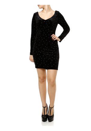 Vestido-Medio-Feminino-Preto