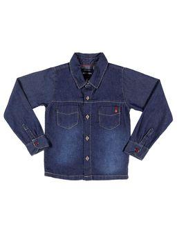 Camisa-Jeans-Manga-Longa-Juvenil-Para-Menino---Azul-6