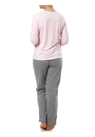 Pijama-Longo-Feminino-Rosa-cinza