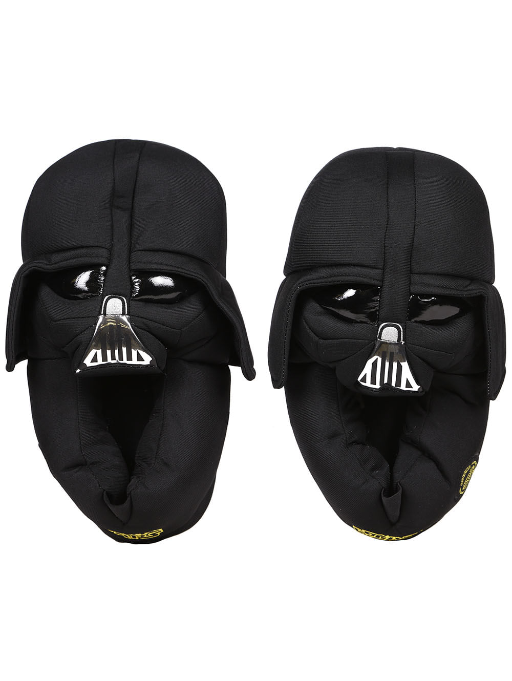 46cf70814a8c35 Pantufa Star Wars Darth Vader Preto