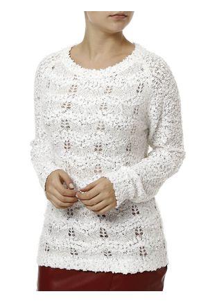 Blusa-de-Tricot-Feminina-Branco